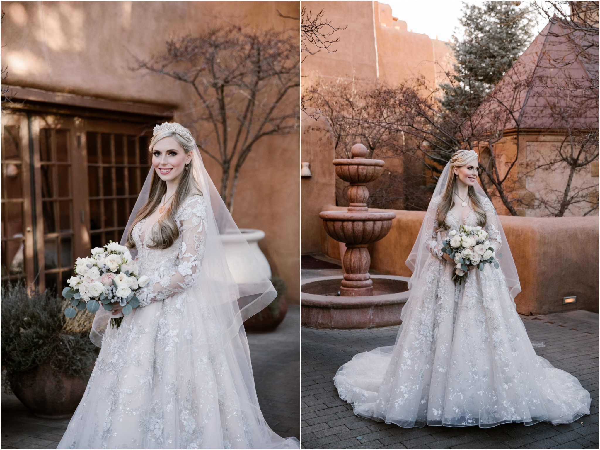 0021La Fonda Weddings Blue Rose Photography Studios