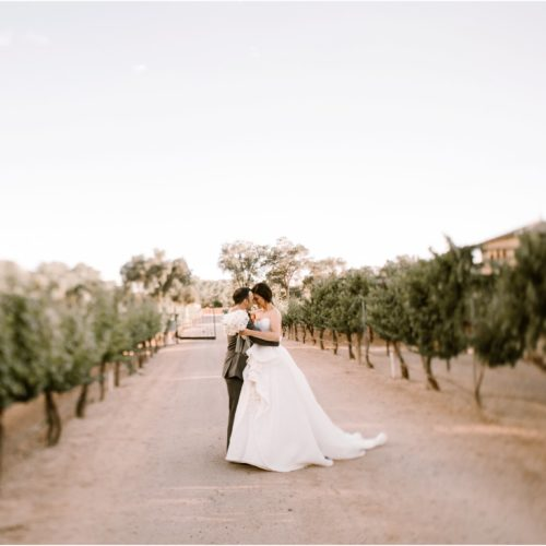 Carrie and Darren, Casa Rodena Winery
