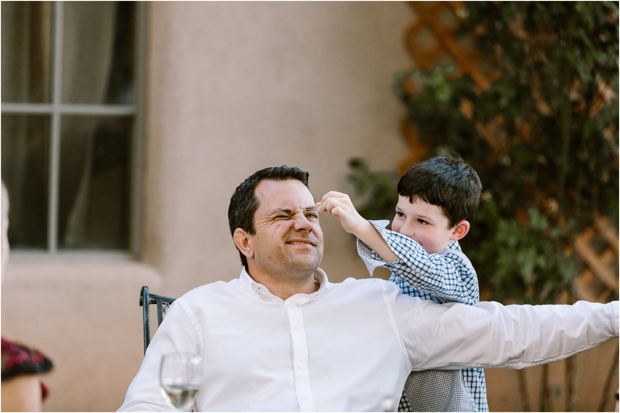 0230Casa Rodena Winery Wedding, Inn and Spa at Loretto wedding, Santa Fe wedding photographers, blue rose photography