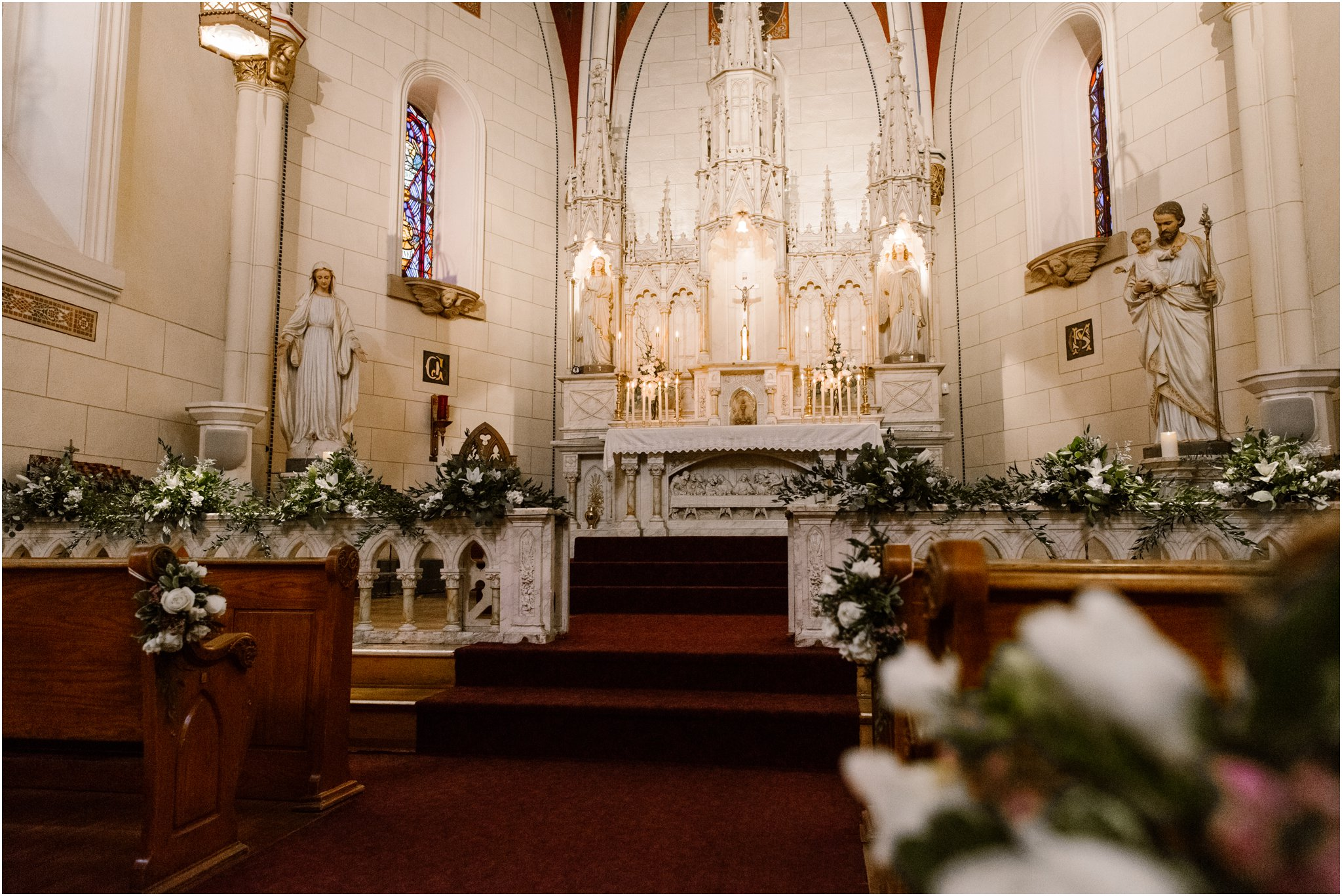 0278Loretto Chapel and Inn and Spa at Loretto Weddings Blue Rose Photography Studios