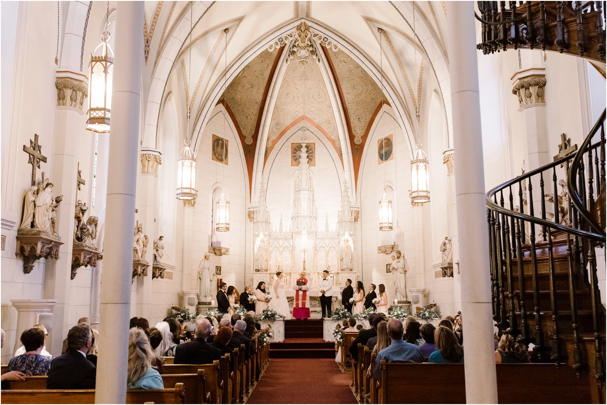 0289Loretto Chapel and Inn and Spa at Loretto Weddings Blue Rose Photography Studios