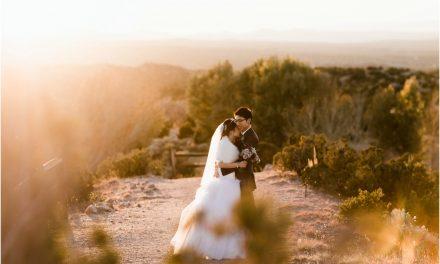 Emily and Wil… Loretto Chapel and Rancho Encantado