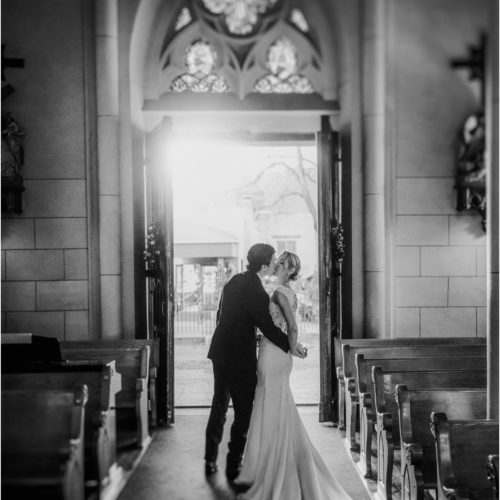 Tracy and Jim, Loretto Chapel