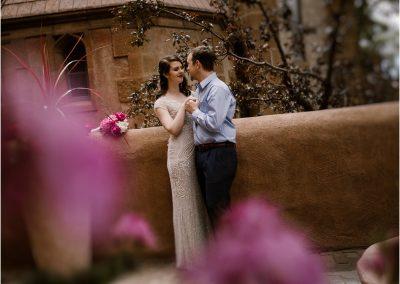 Katherine and Adam, Santa Fe Elopement at Loretto Chapel