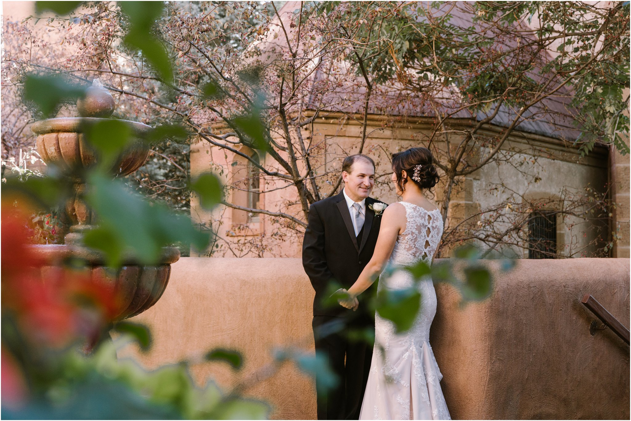 0008Blue Rose Photography_ Inn and Spa at Loretto Wedding_ Albuquerque and Santa Fe Wedding Photographer_ New Mexico Wedding Photography
