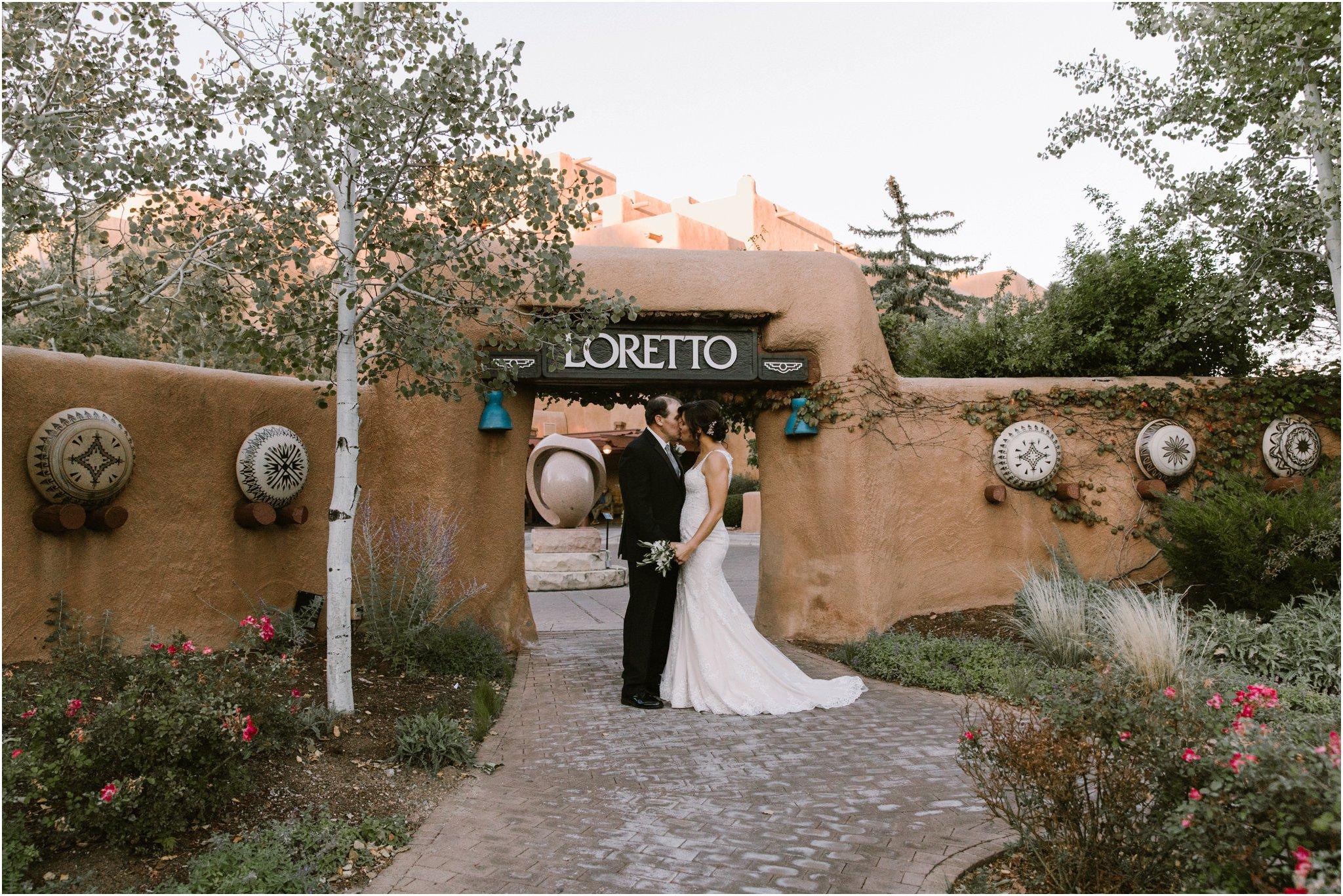 0016Blue Rose Photography_ Inn and Spa at Loretto Wedding_ Albuquerque and Santa Fe Wedding Photographer_ New Mexico Wedding Photography