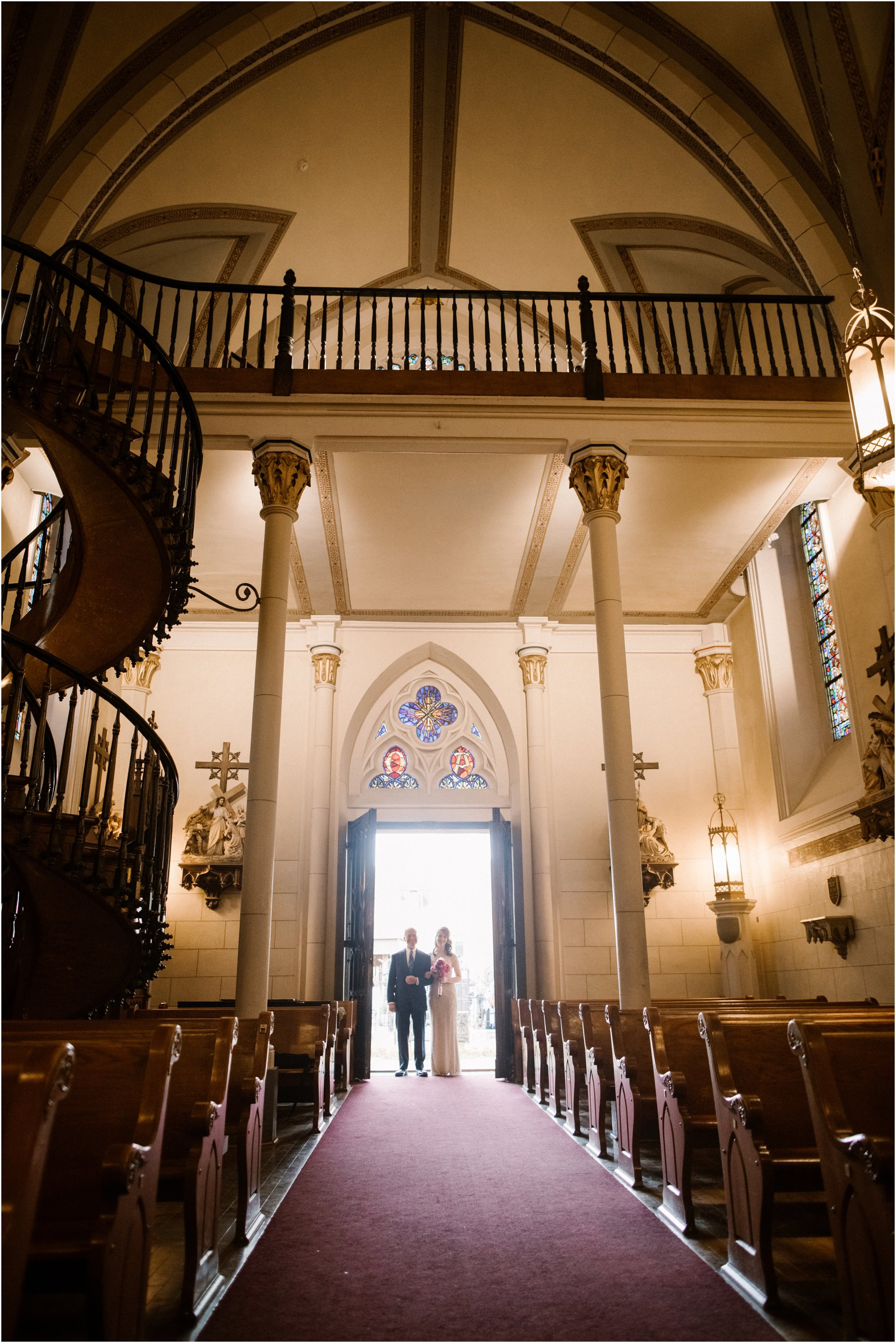 0019Loretto Chapel Wedding_Santa Fe New Mexico Wedding Photographer, Blue Rose Wedding Photography