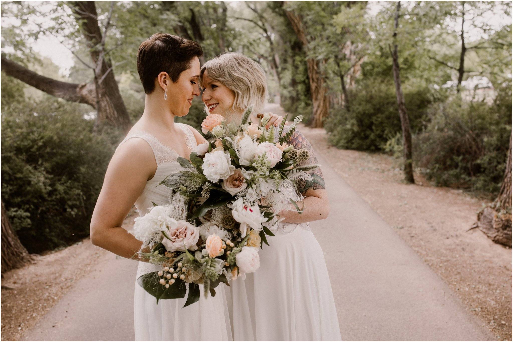 0020Albuquerque Wedding Photographer_ Los Poblanos Inn_ Blue Rose Photography