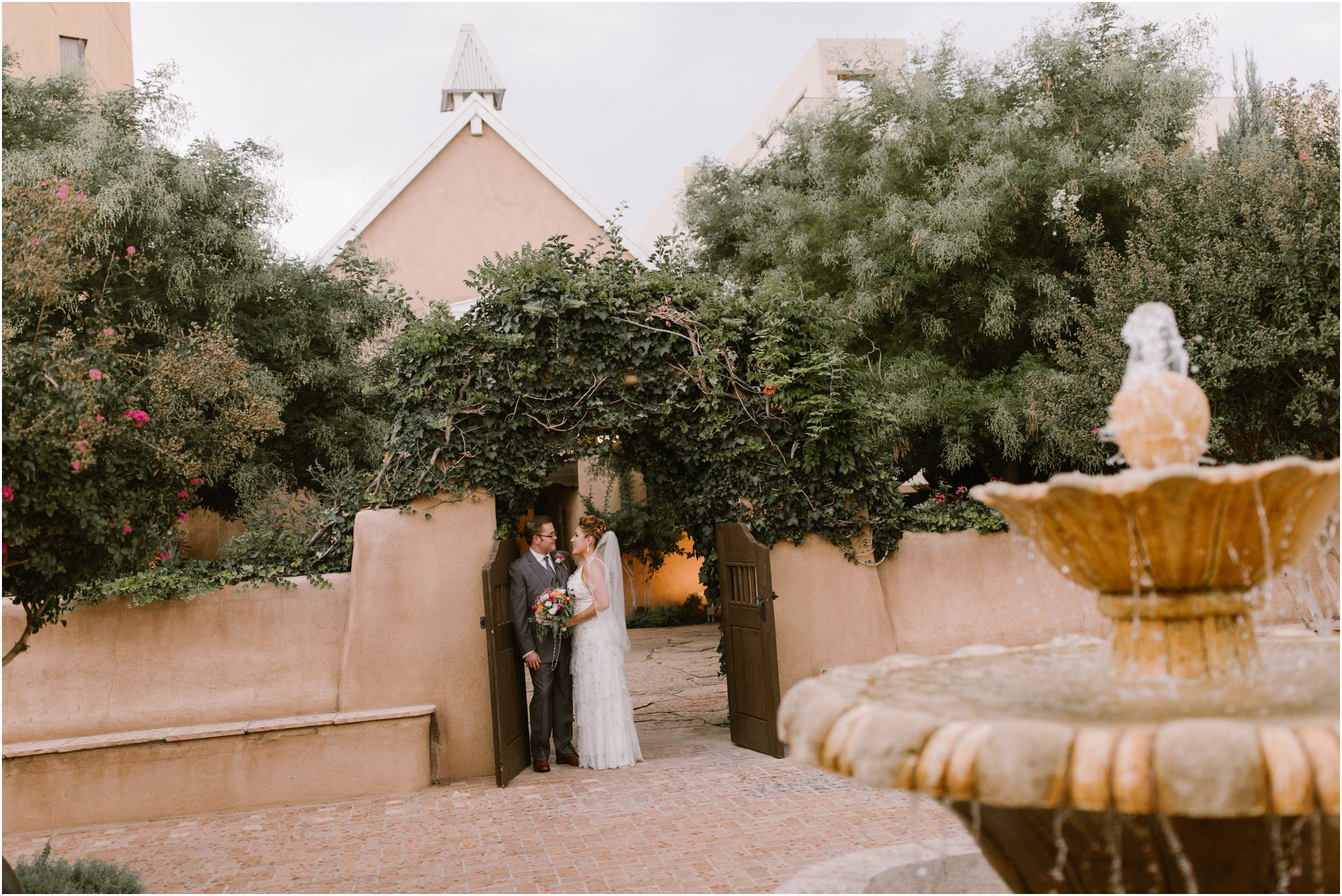 0026Hotel Albuquerque Wedding, Inn and Spa at Loretto wedding, Santa Fe wedding photographers, blue rose photography