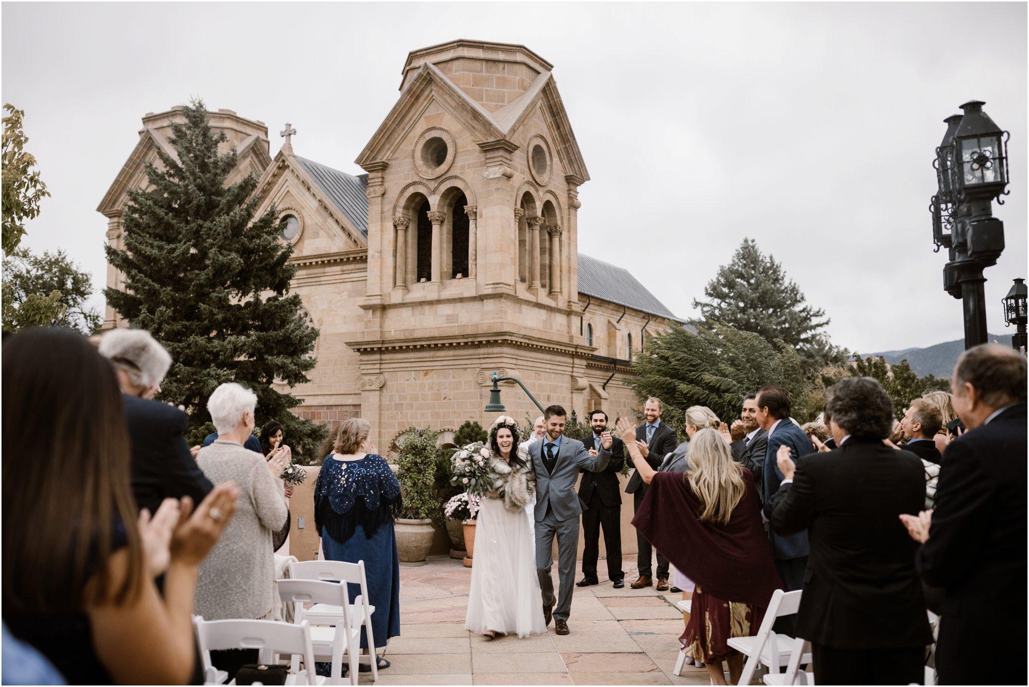 Santa Fe Wedding Photography at La Fonda Hotel
