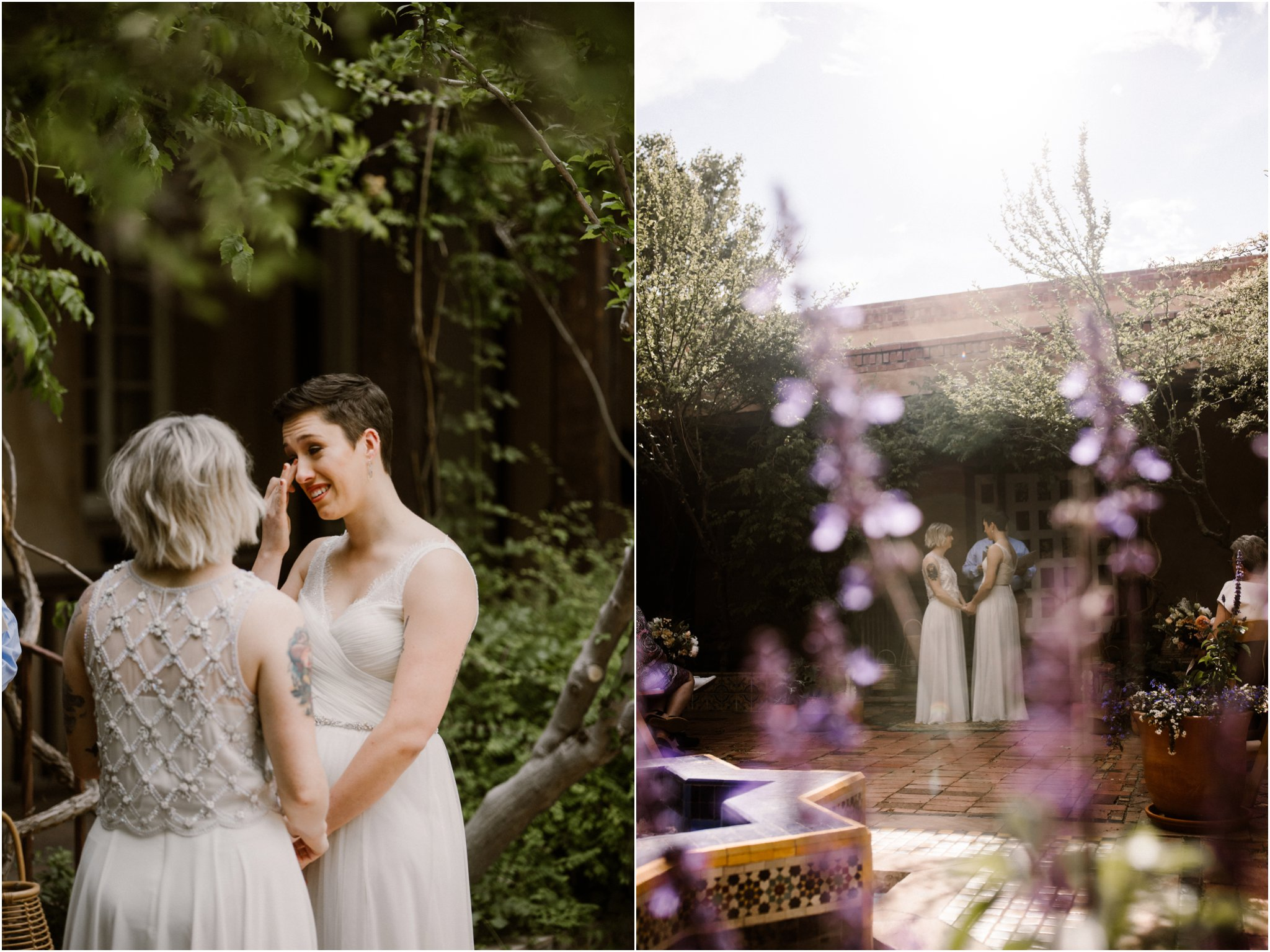0031Albuquerque Wedding Photographer_ Los Poblanos Inn_ Blue Rose Photography