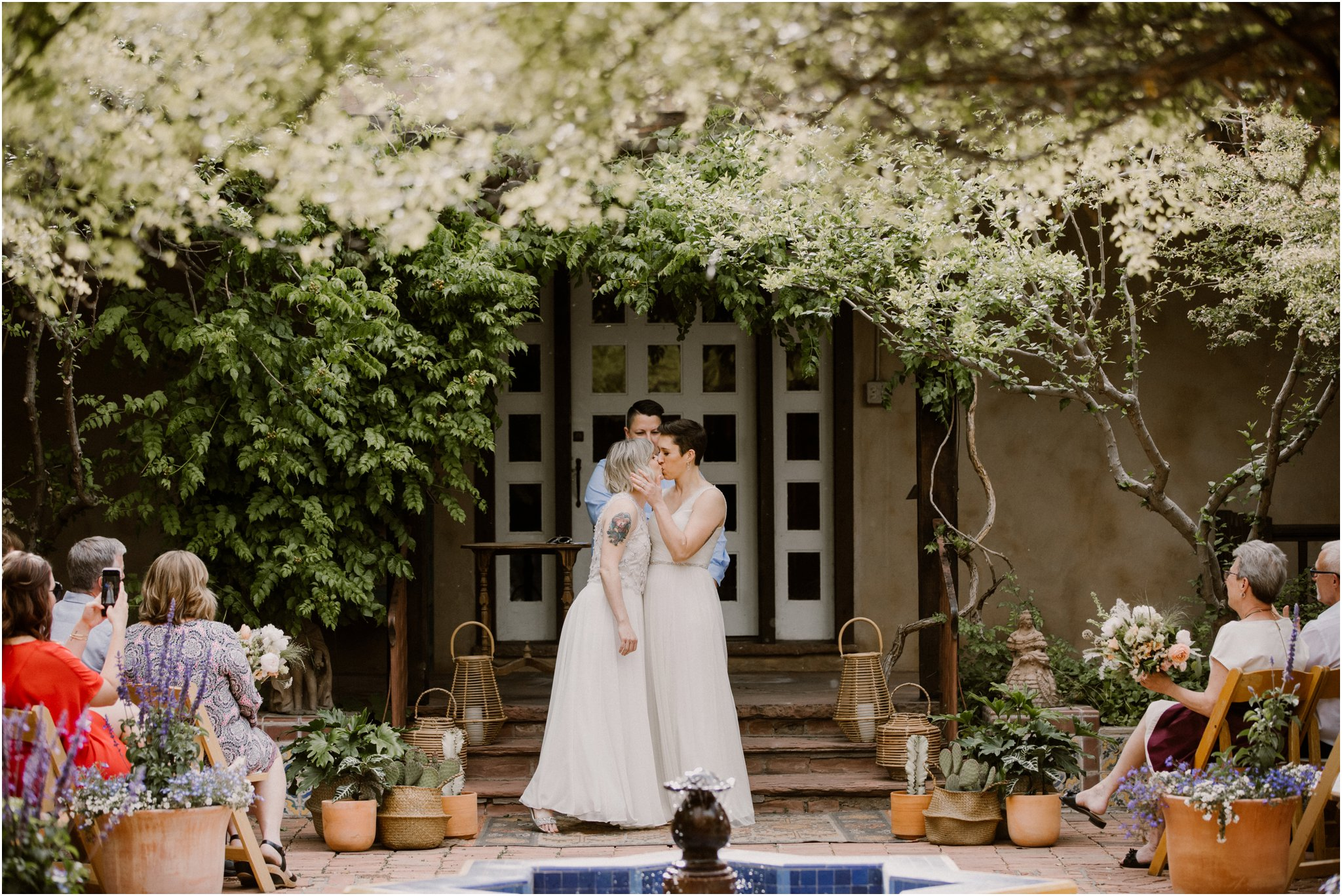 0032Albuquerque Wedding Photographer_ Los Poblanos Inn_ Blue Rose Photography