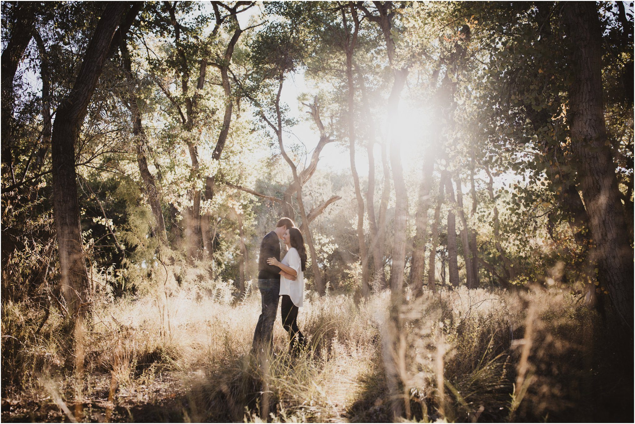 Jess And Zach The Bosque Albuquerque Wedding