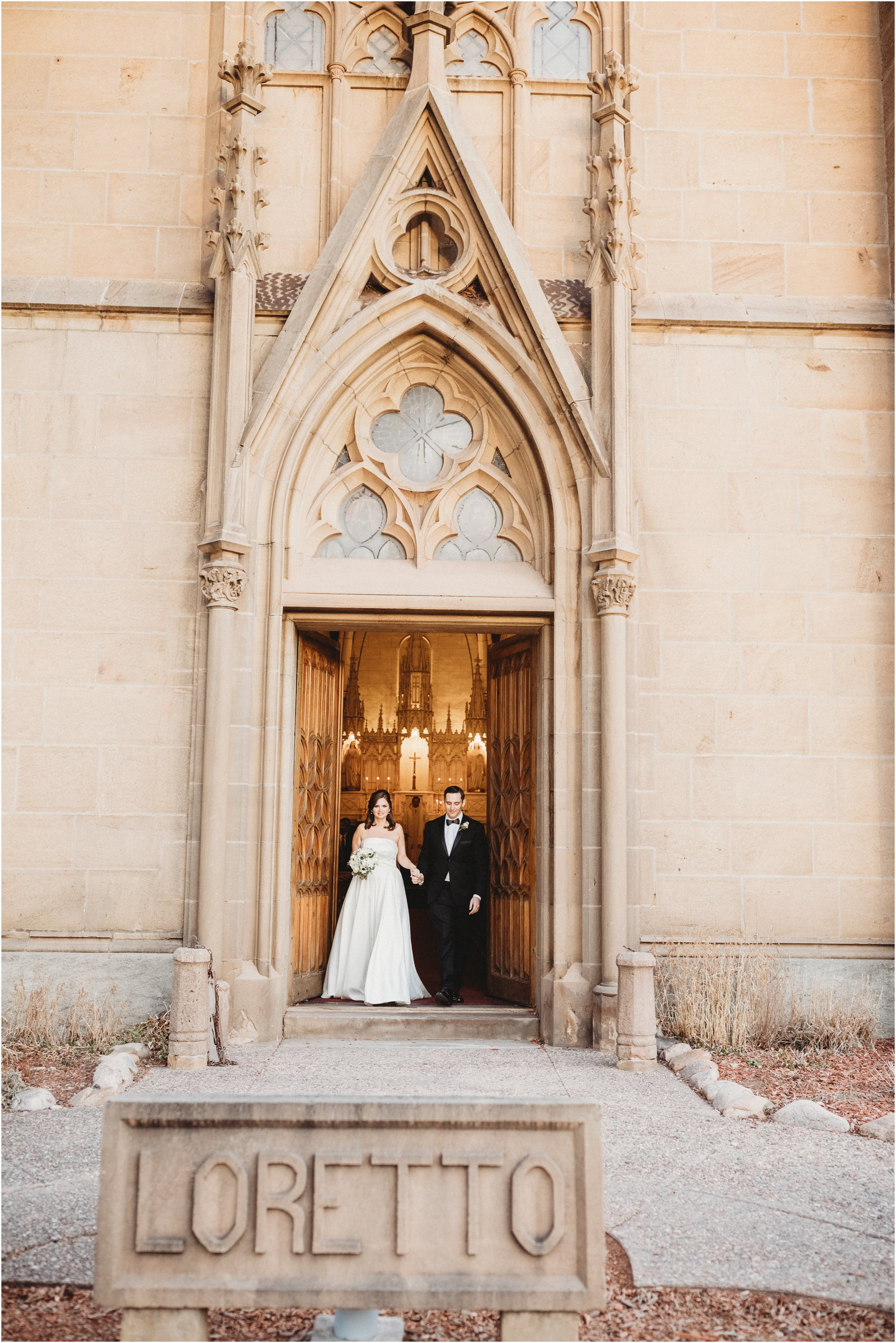 0035Santa_Fe_Wedding_Photographer_Loretto_Chapel_Weddings_Blue_Rose_Photography