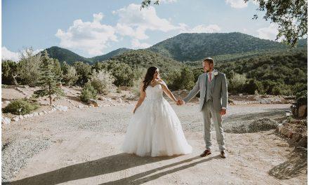 Amber and Joe's Santa Fe, New Mexico Wedding