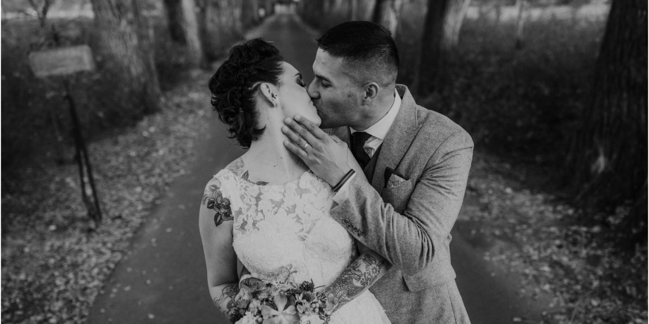 Ashlee and Joe… A Los Poblanos Farm Winter Wedding