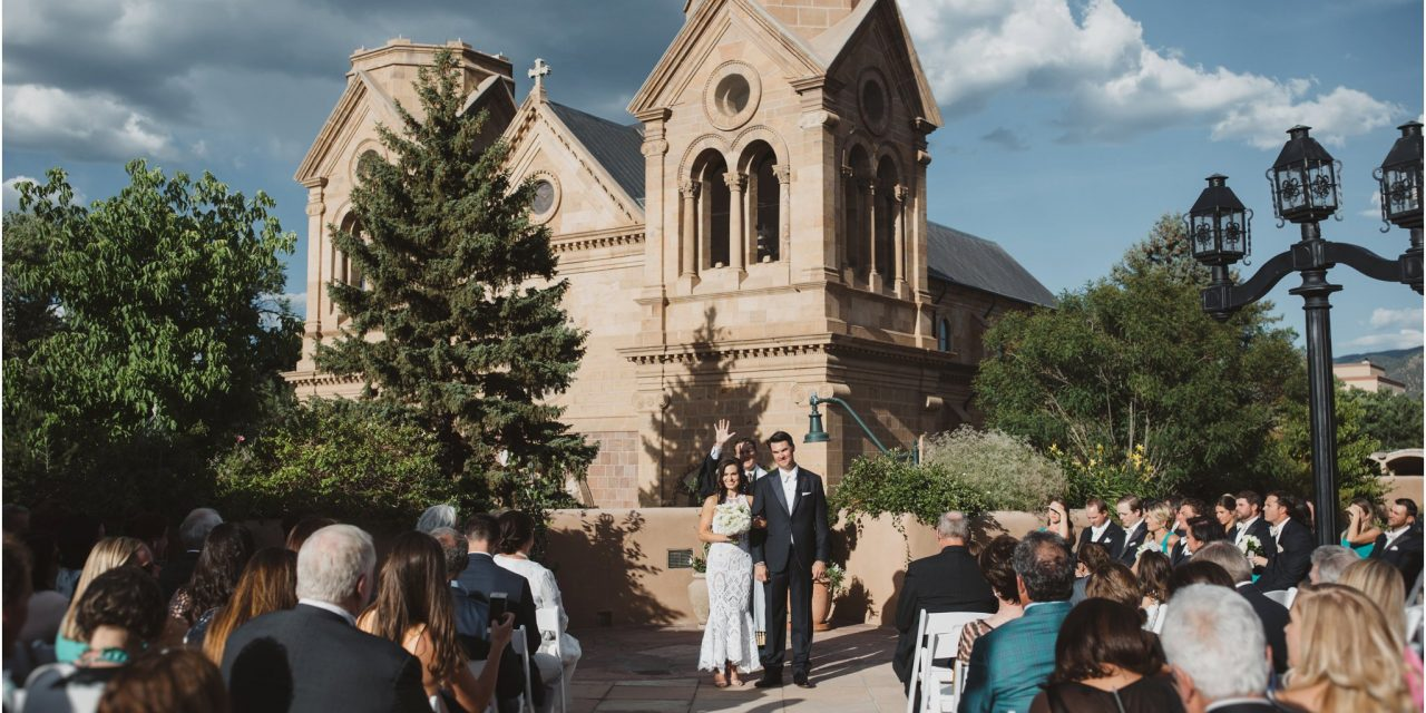 Marlow and Clay… A La Fonda on the Plaza Wedding
