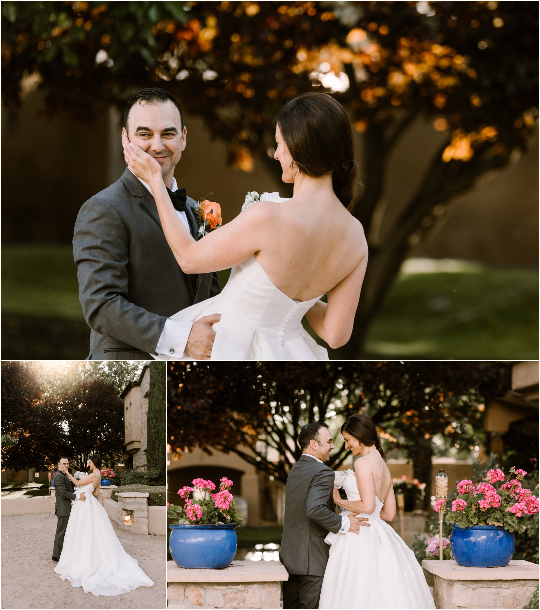 0212Casa Rodena Winery Wedding, Inn and Spa at Loretto wedding, Santa Fe wedding photographers, blue rose photography