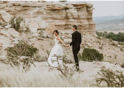 Natalie and Reed, La Mesita Ranch, New Mexico