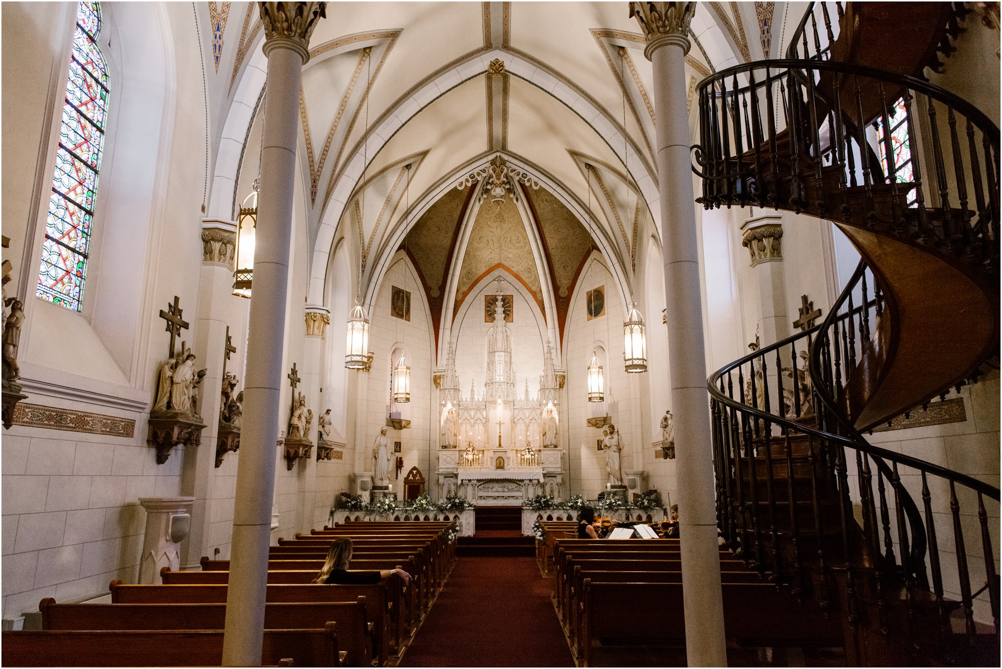 0275Loretto Chapel and Inn and Spa at Loretto Weddings Blue Rose Photography Studios