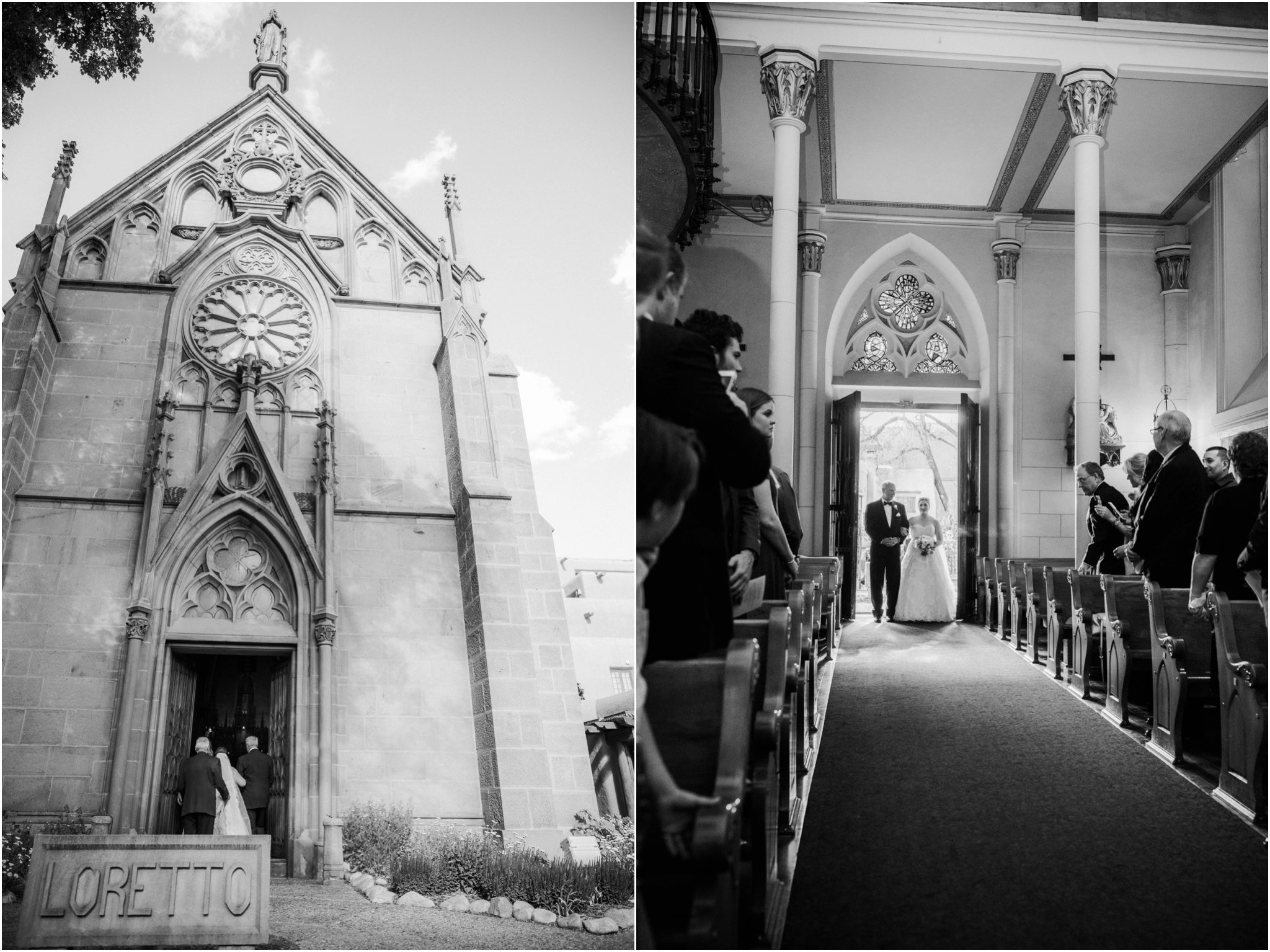 0287Loretto Chapel and Inn and Spa at Loretto Weddings Blue Rose Photography Studios