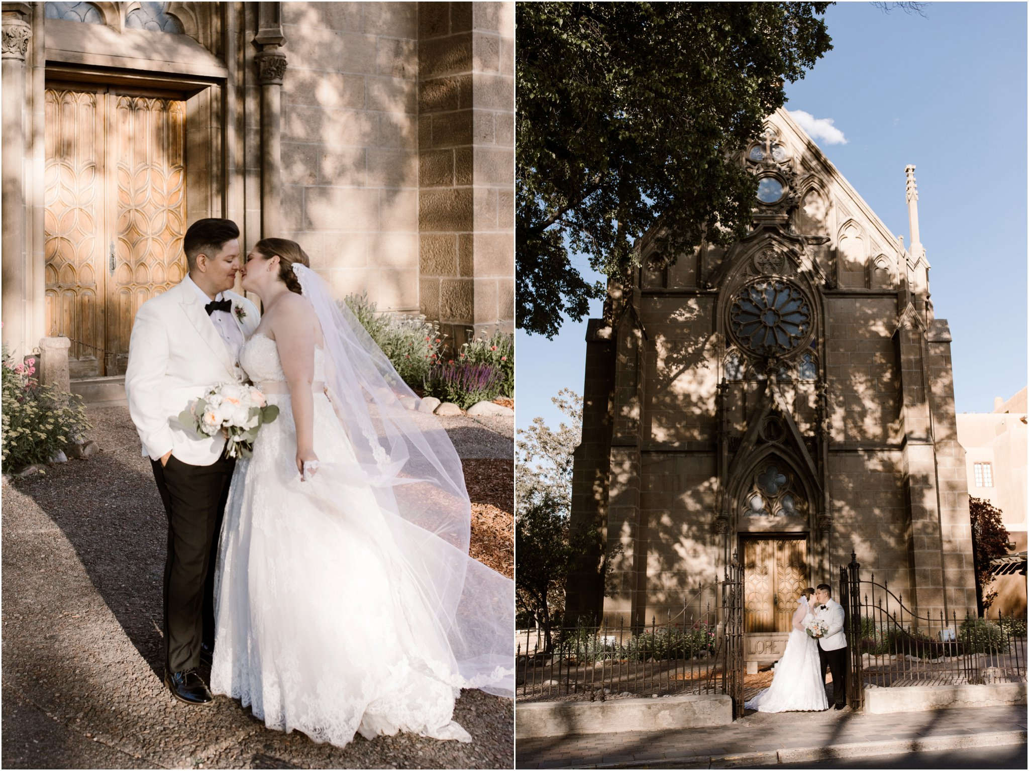0298Loretto Chapel and Inn and Spa at Loretto Weddings Blue Rose Photography Studios