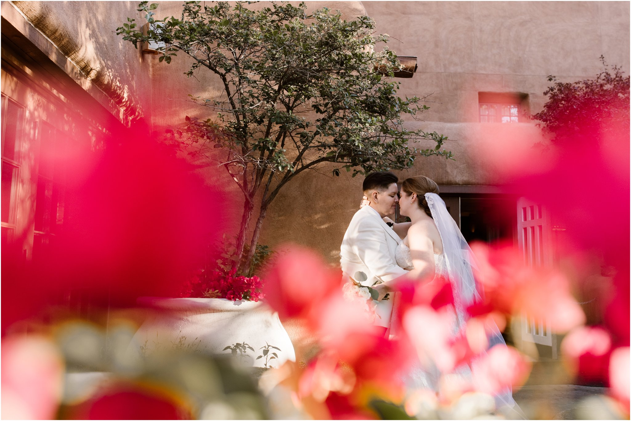 0299Loretto Chapel and Inn and Spa at Loretto Weddings Blue Rose Photography Studios