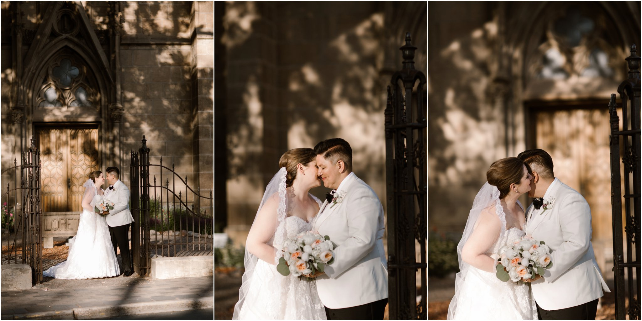 0300Loretto Chapel and Inn and Spa at Loretto Weddings Blue Rose Photography Studios
