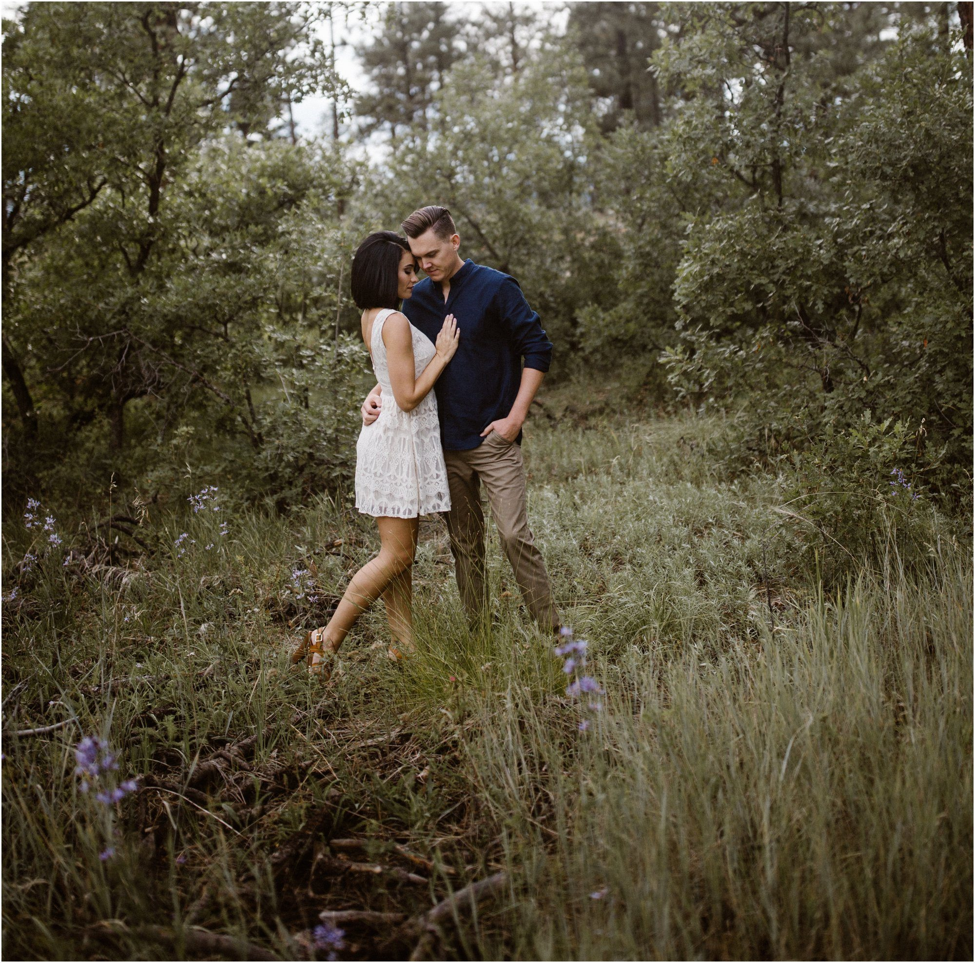 069Blue Rose Photography_ Albuquerque Engagement Photographer_ Blue Rose Studios_ Anniversary Pictures Santa Fe Photographer