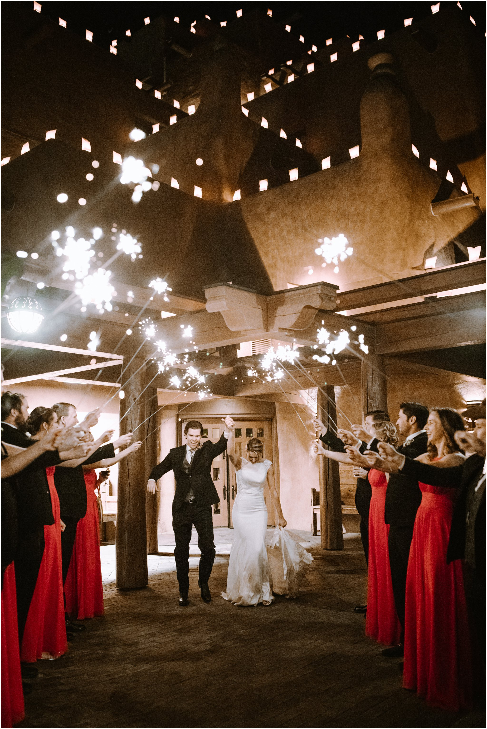 0948Loretto Chapel Wedding, Inn and Spa at Loretto wedding, Santa Fe wedding photographers, blue rose photography