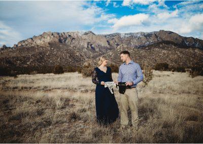 Brianna and Zach Maternity, Sandia Mountains