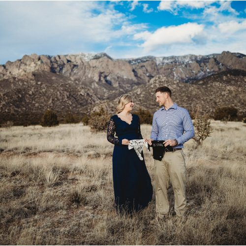 Brianna and Zach Maternity, Sandia Mountains