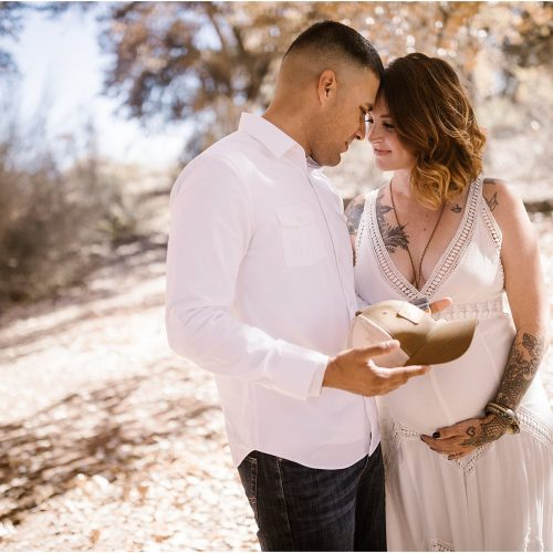 Ashlee and Joe Maternity, The Bosque