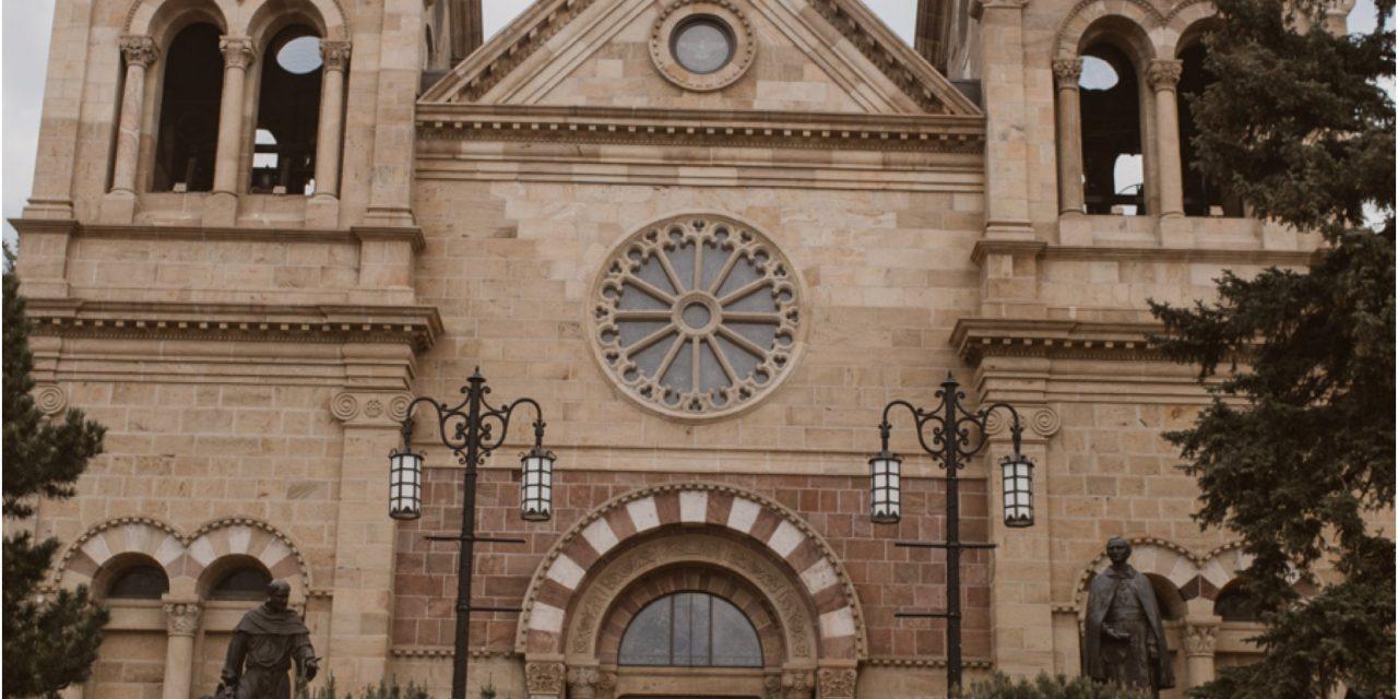 Alyson and Lucas… A Santa Fe Cathedral Wedding