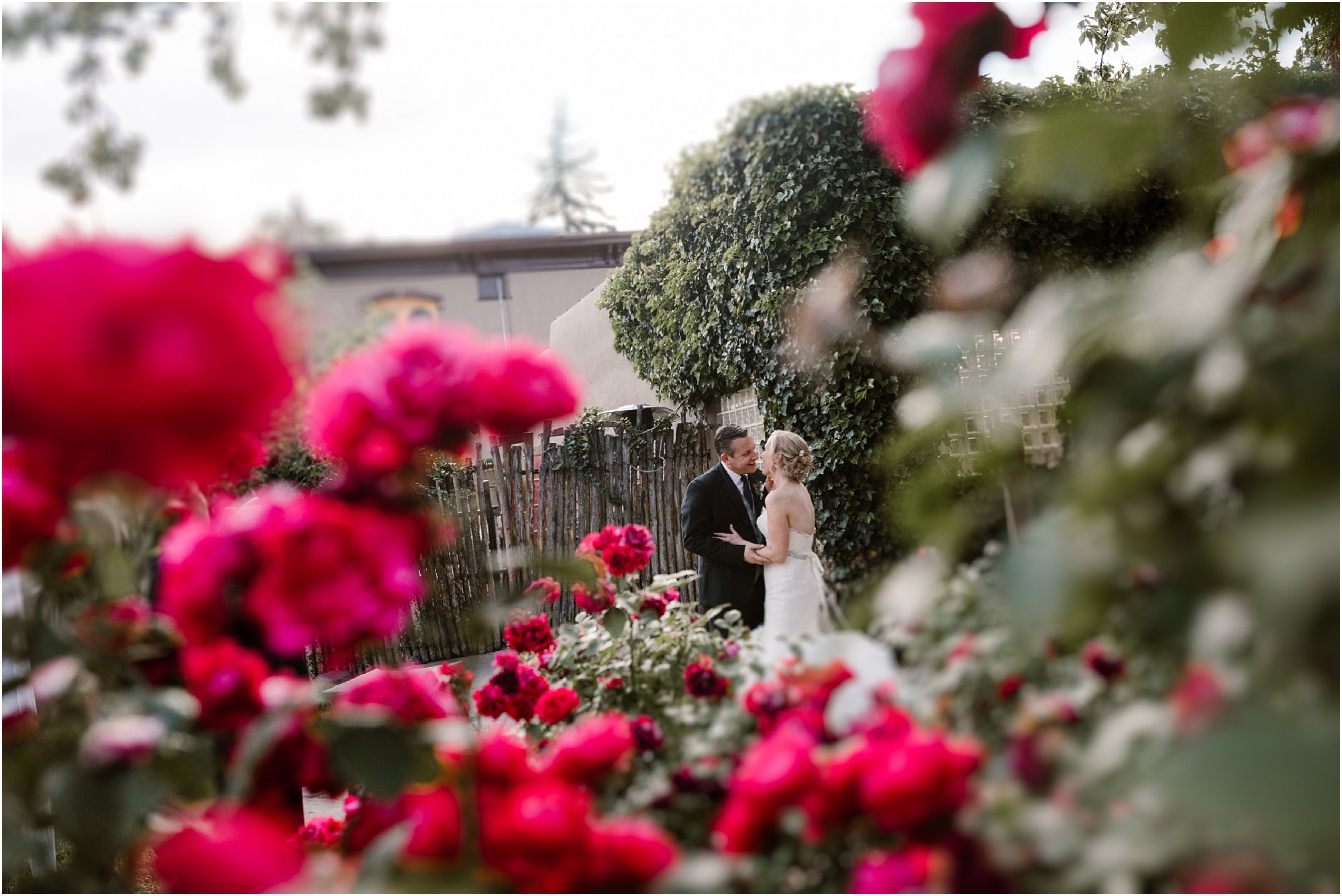 Santa Fe wedding photographer at La Posada